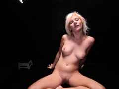 Gangbang Creampie blonde spinner never wants it to stop