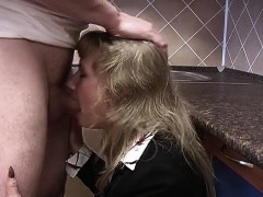 blonde-housewife-in-stockings-receives-deep-pussy-fisting
