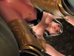 3d star wars queen gets booty fucked!