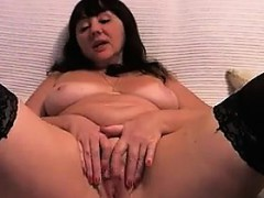 large-mature-woman-masturbating