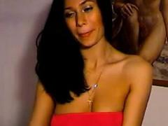 sexy-brunette-fingering