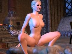 The Night Visitor – Amazing 3D Hentai