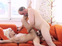Horny Young Gal Gets Astonishing Experience With Old Lover