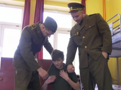 Horny Officers Hell And Cutler Take Advantage Of Yuri Adamov