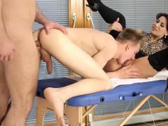 bi trio fuck booty and vagina – Gay Porn Video
