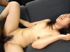 Yumi Takeda has hairy crack aroused big time and fucked