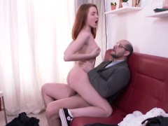 tricky old teacher — sandra gets tricked into sex