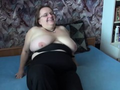 Couple Gets Granny In Bed