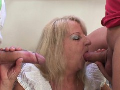 boozed-old-grandmother-rides-and-sucks-cock
