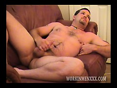 mature dude kevin jerks off – Gay Porn Video