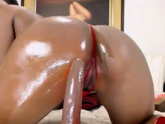 big-butt-ebony-riding-dildo