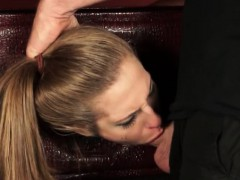 Blonde Teenie Molly Manson Throated And Rammed Hard