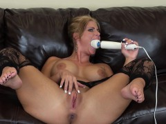 gorgeous milf with massive tits and a divine ass phoenix marie masturbates