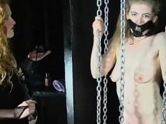 homemade femdom bondage amateur lesbian couple