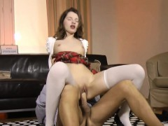 euro slut rides old dude
