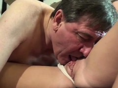 Old chick young cock and old man fucks daughter Until she ob