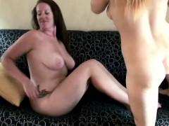 awesome sexy lesbian babes eat vagina and finish doing sixty-nine
