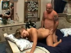 insatiable blonde enjoys a deep drilling and gets a mouthful of semen