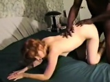 A dark guy is fucked by Linda before hubby fucks him also
