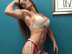 Sexy Latina Bodybuilder Maria G