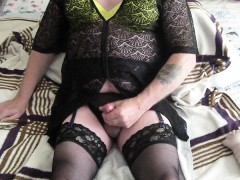 fetish-wank-cum-stockings