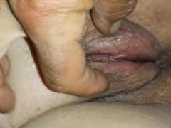 Kinky Granny Has Her Pussy Filmed Closeup