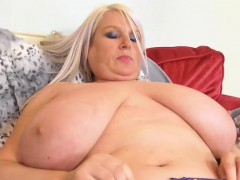 old-chubby-sami-plays-with-big-tits