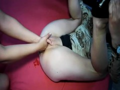 brutally-double-fisting-her-ruined-teen-pussy