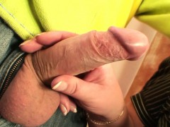 Busty Old Woman Picked Up For Cock Riding