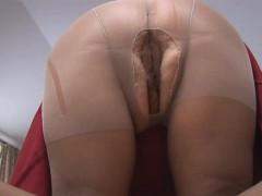 curvy-mature-in-sheer-pantyhose-posing-and-teasing