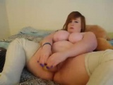 BBW shows that are redhead her titties that are puffy