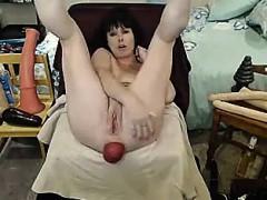 Секс игрушки Брюнетки Мастурбация Любительское фото 3