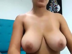 Latina Shows Boobs On Camera
