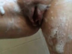 British Wife Showering Danille From 1fuckdatecom