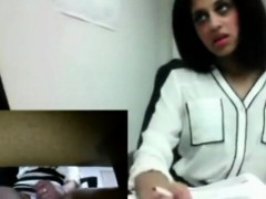 Indian Almost Caught Public Squirting At Work