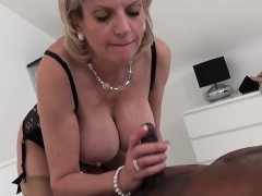cheating english mature gill ellis shows off her monster tits