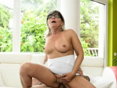 Busty Mature Banged In Missionary