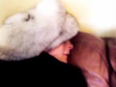 furgirl white wool hat butt penetrated trio – Free Porn Video