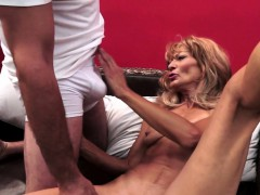 mature penetrated doggystyle after fun with toys