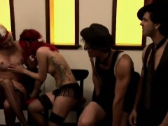 Reality Show Group Bisexual Babes Swing Party