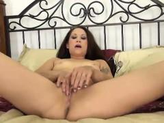 Katt Lowden Masturbating Her Tight Pussy
