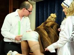Glam Dressed Nurse Cummy
