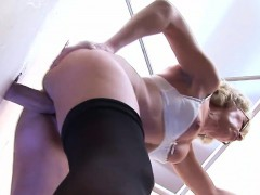 Mature Slut Pleasures A Thick Gloryhole Cock