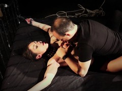 Hardcore Bdsm For Arwen Gold Exhausted With Fuck Machine