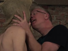 hot-twink-xavier-getting-that-black-plastic-from-master
