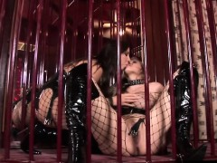 Maria Bellucci and Mandy Bright getting down
