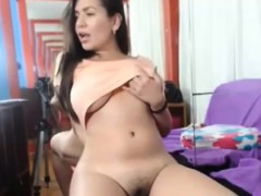 Busty Teen Fingers Pussy Under The Pants