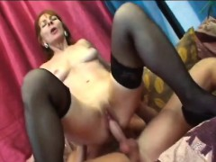 Brunette Granny Ivet Riding Big Dick Fucking