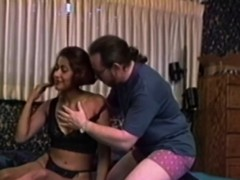 ethnic retro newbie analfucked by old guy