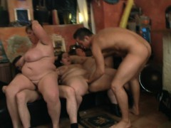 fat orgy at bbw party